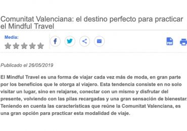 Blog Mindful Travel Comunitat Valenciana