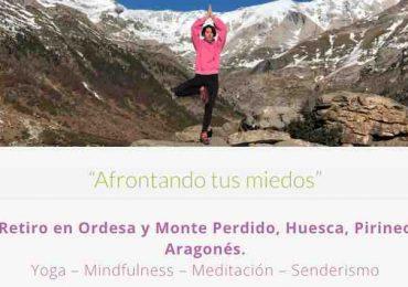 Retiros de yoga mindfulness senderismo pirineo aragones